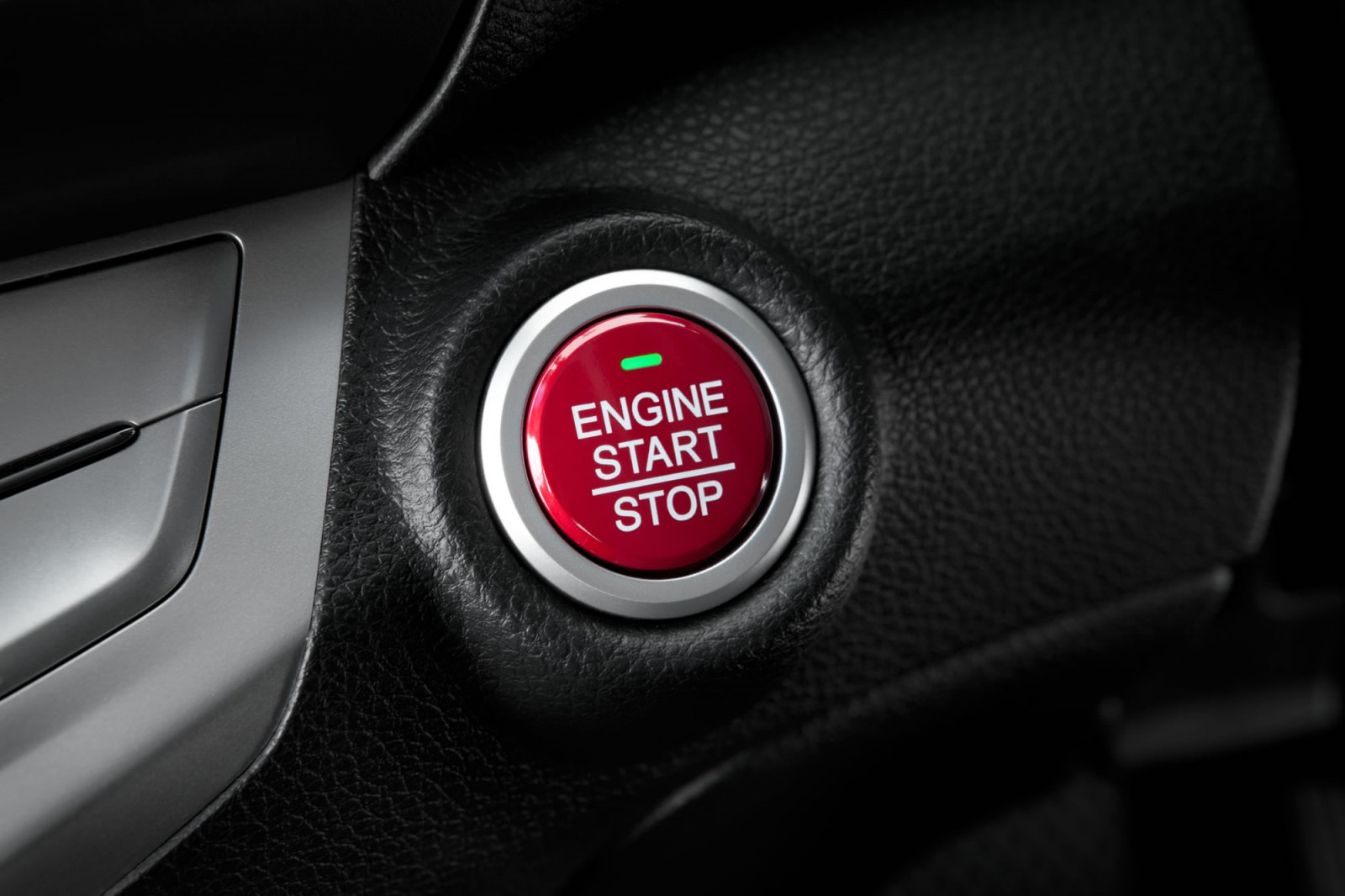 Honda engine start button