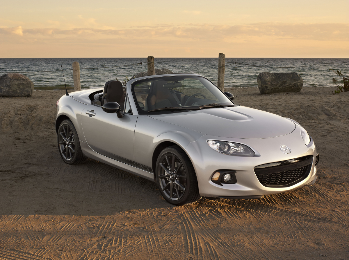Spring Into A Convertible With The Roadster Mx 5 Or R8