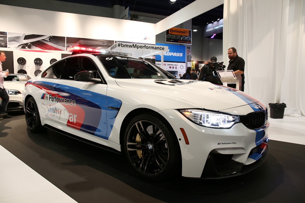 The other rare example was the premiere of the bmw safety car which will be featured in the upcoming gran turismo 6 racing simulator for the sony