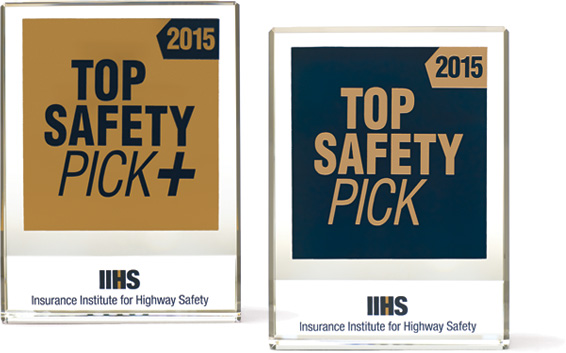 IIHS Top Safety Pick awards