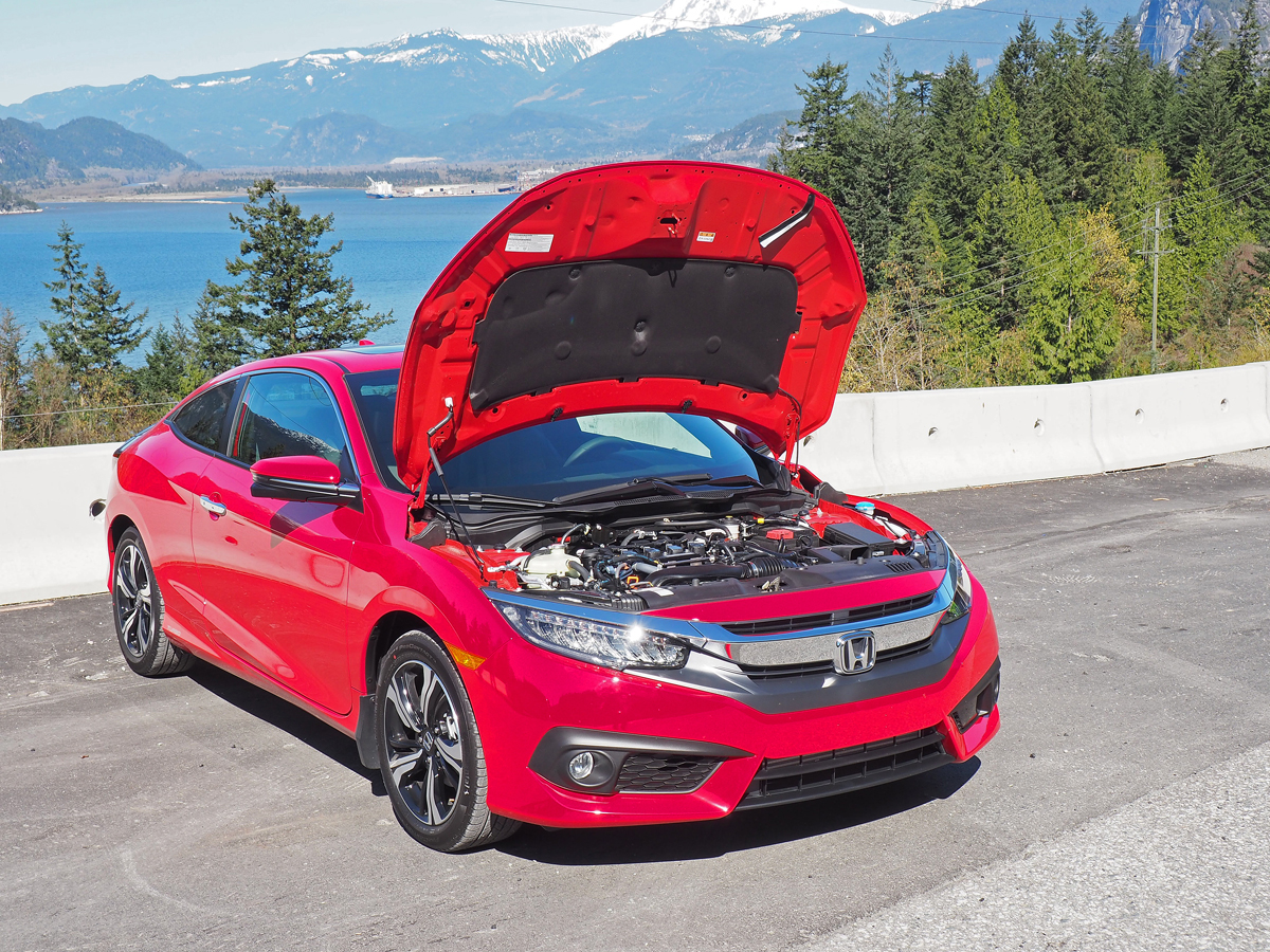 10th gen civic coupe features sportier design openroad auto group. Black Bedroom Furniture Sets. Home Design Ideas