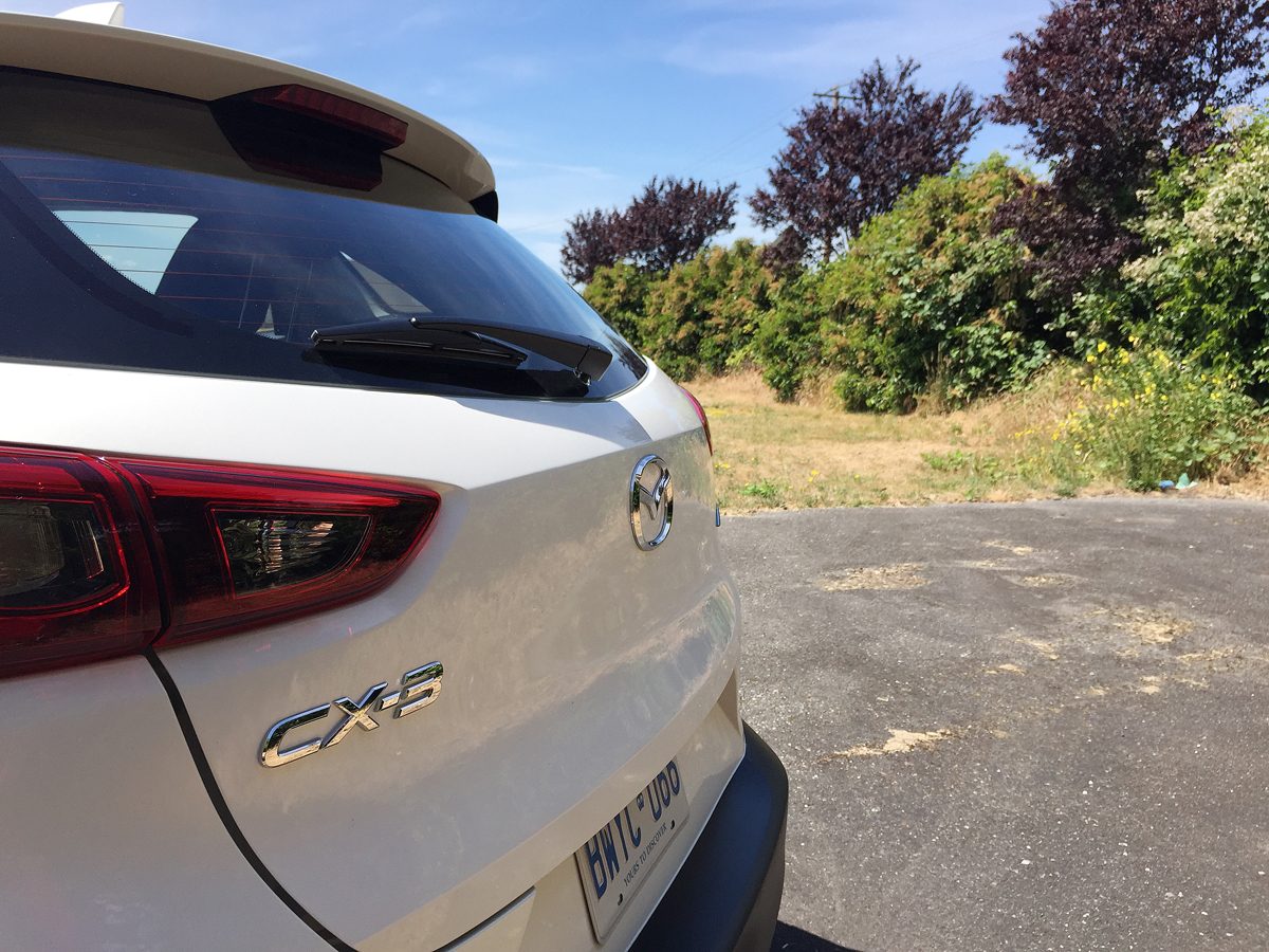 2016 Mazda CX-3 badge