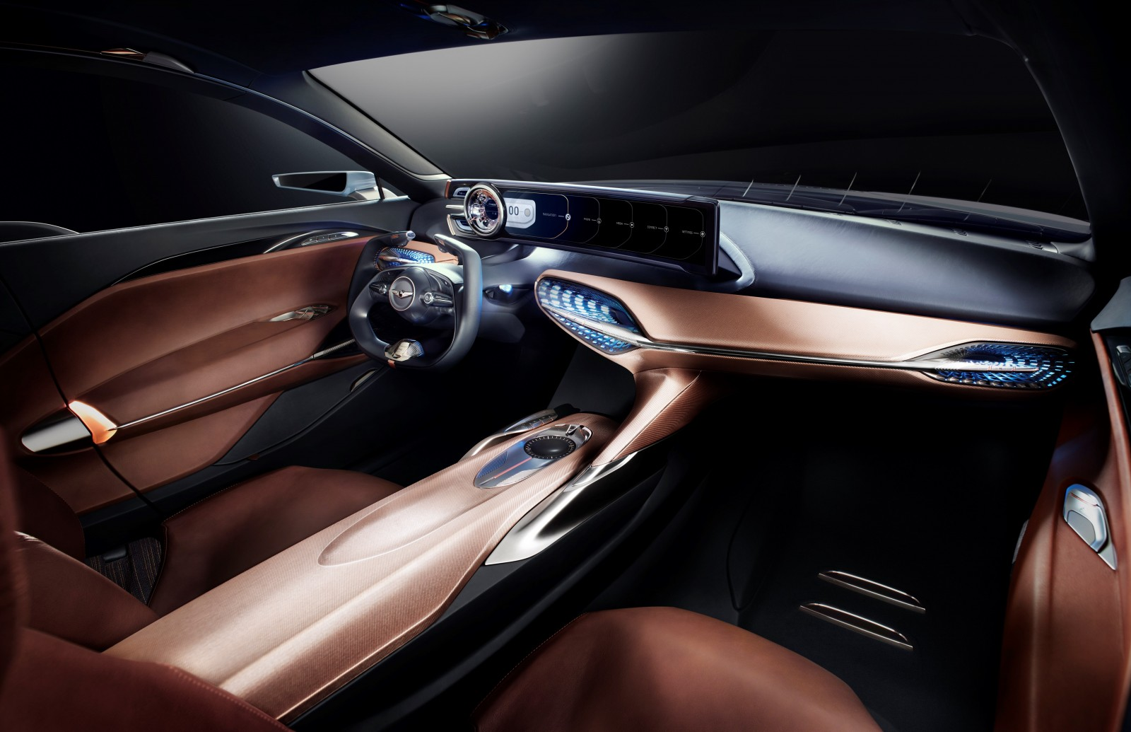 Genesis New York Concept interior