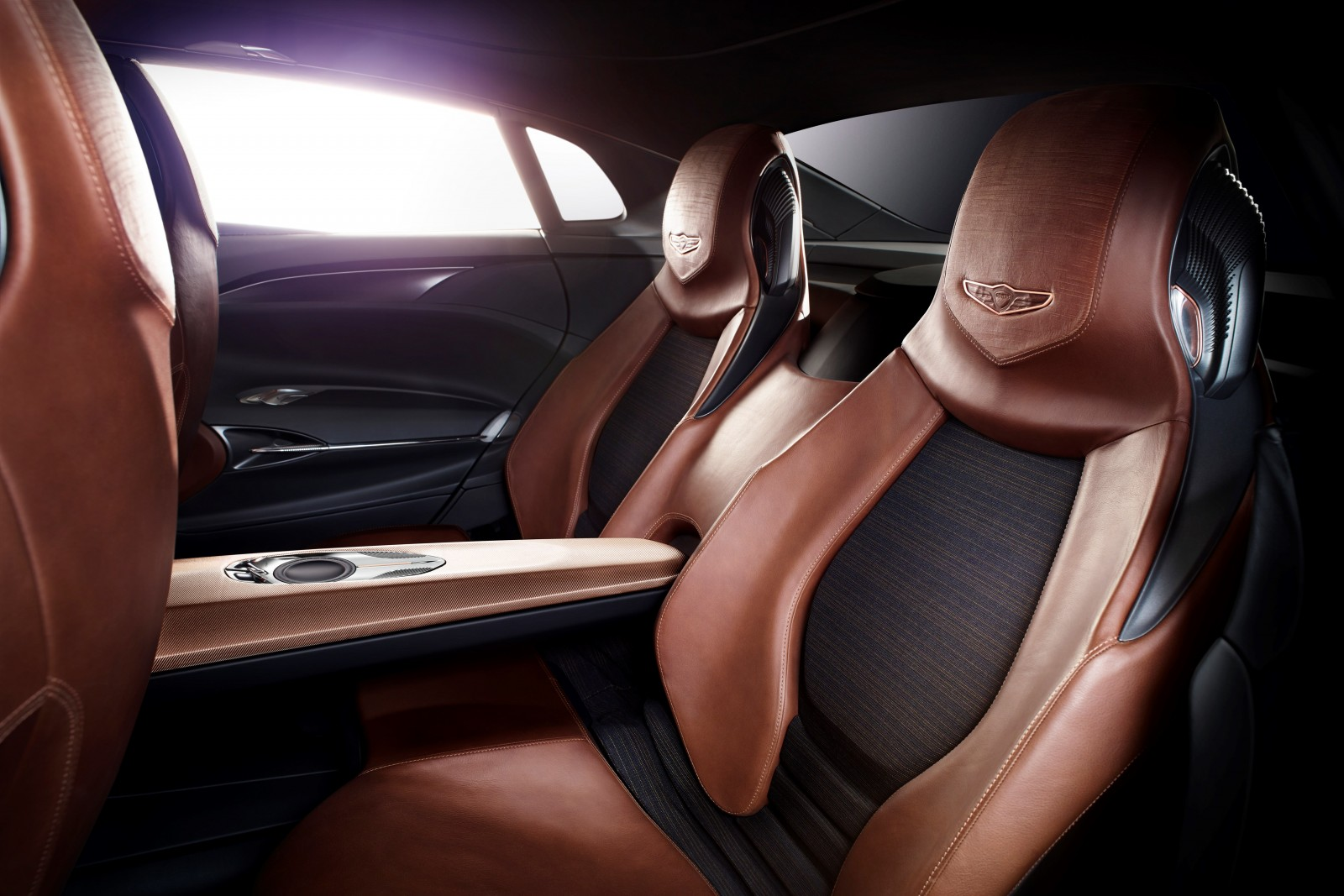 Genesis New York Concept back seats