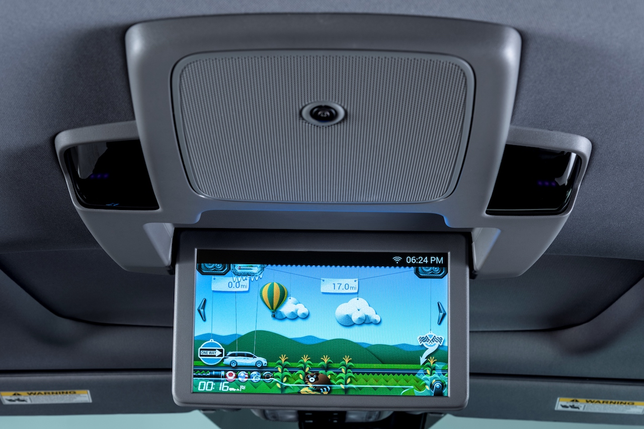 2018 honda odyssey rear seat entertainment
