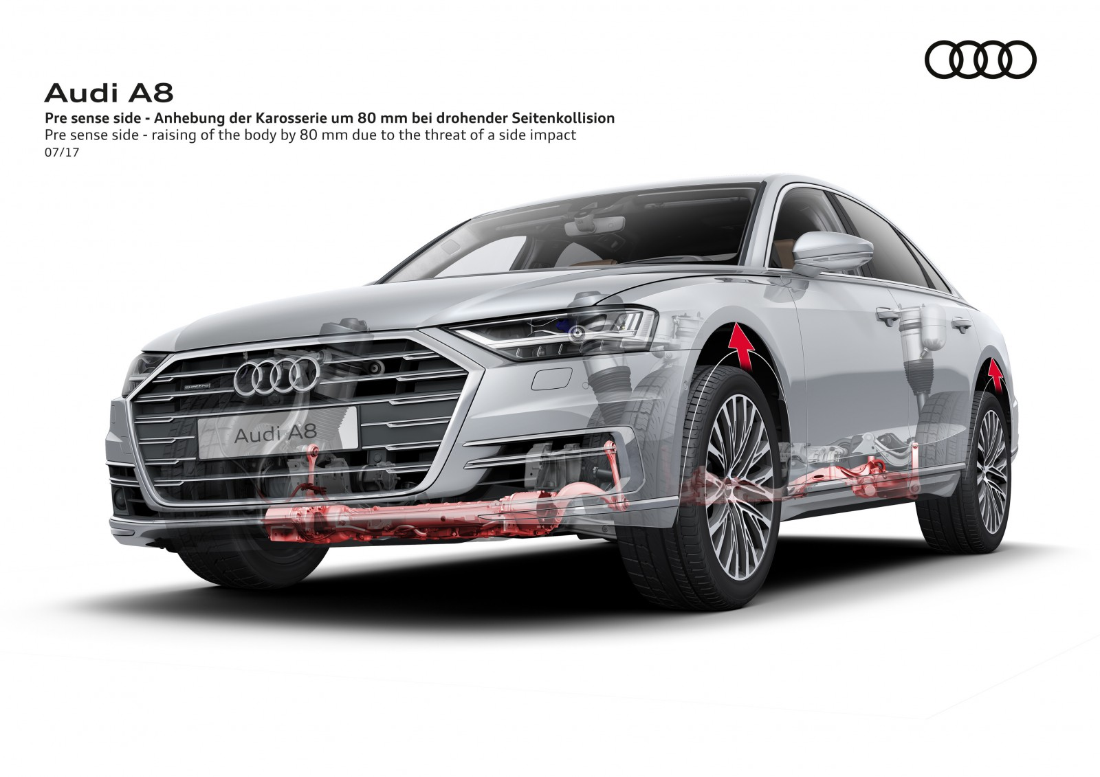 audi a8 active suspension safety
