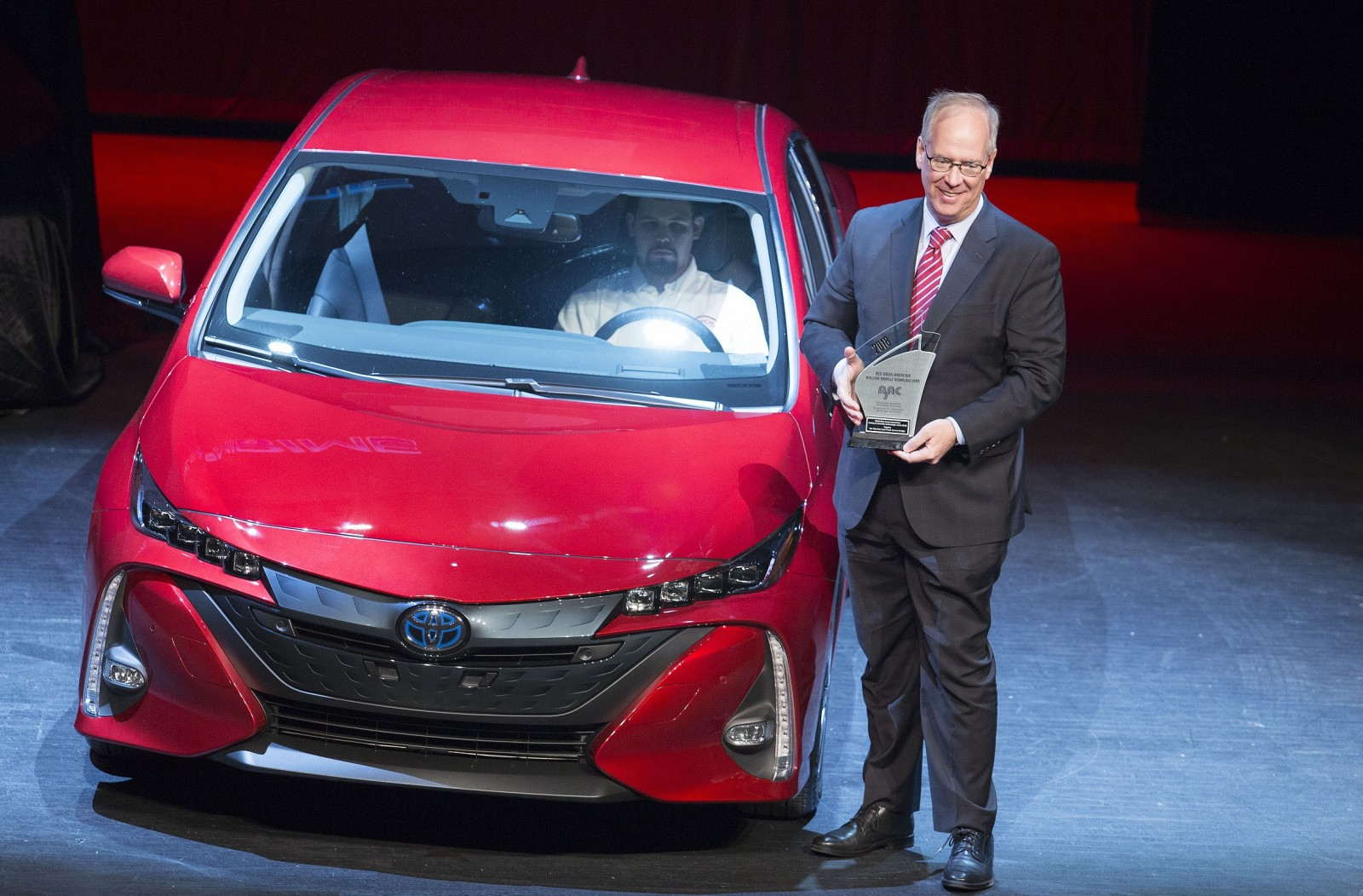 Toyota Prius Prime Best Green Innovation award AJAC