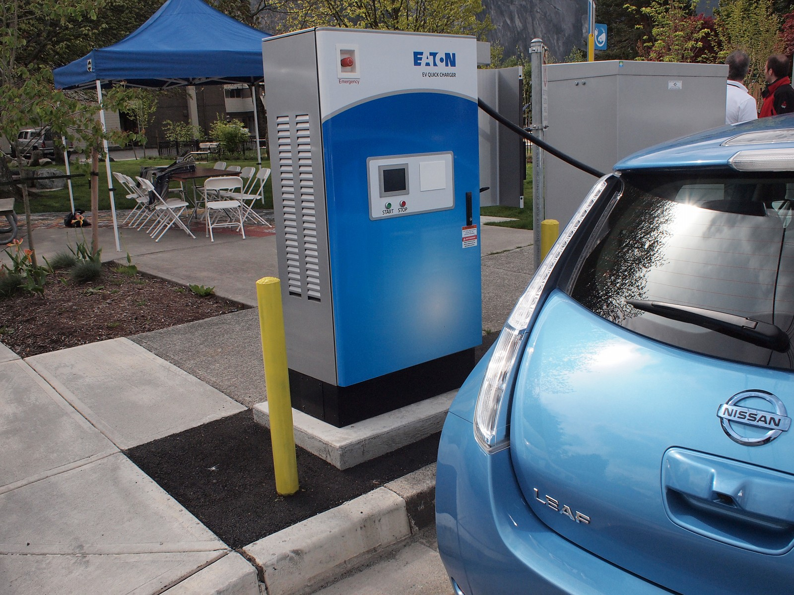 2014 AJAC Eco-Run Squamish DC Fast Charger
