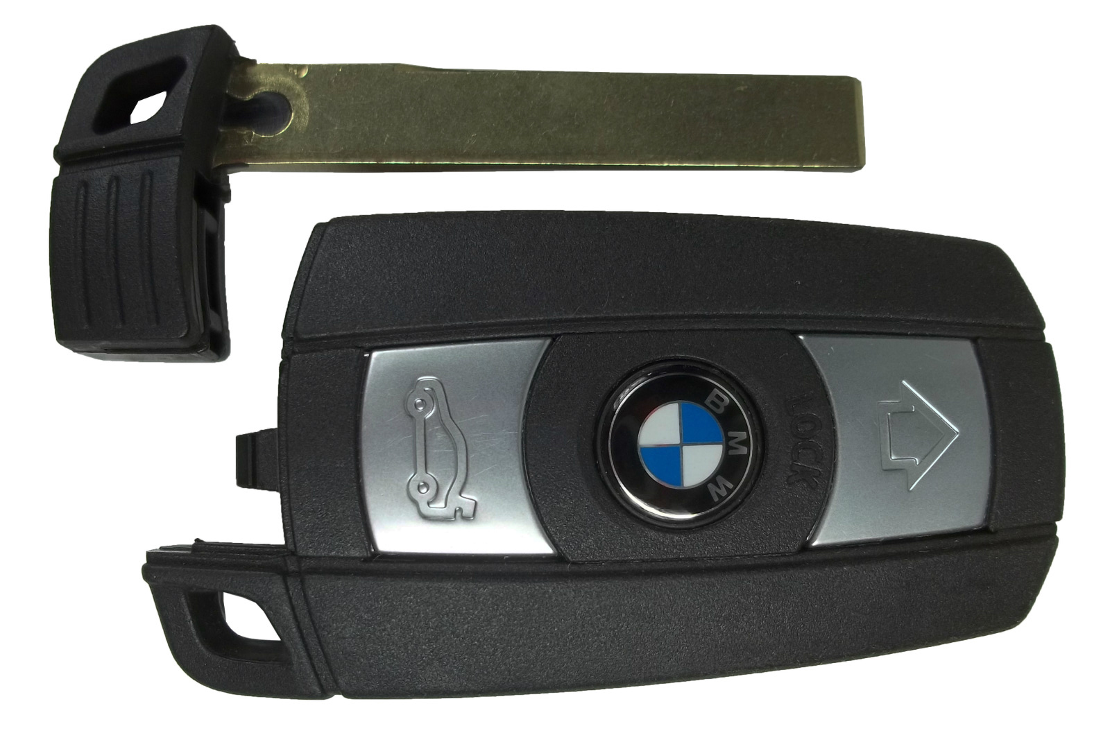BMW emergency key