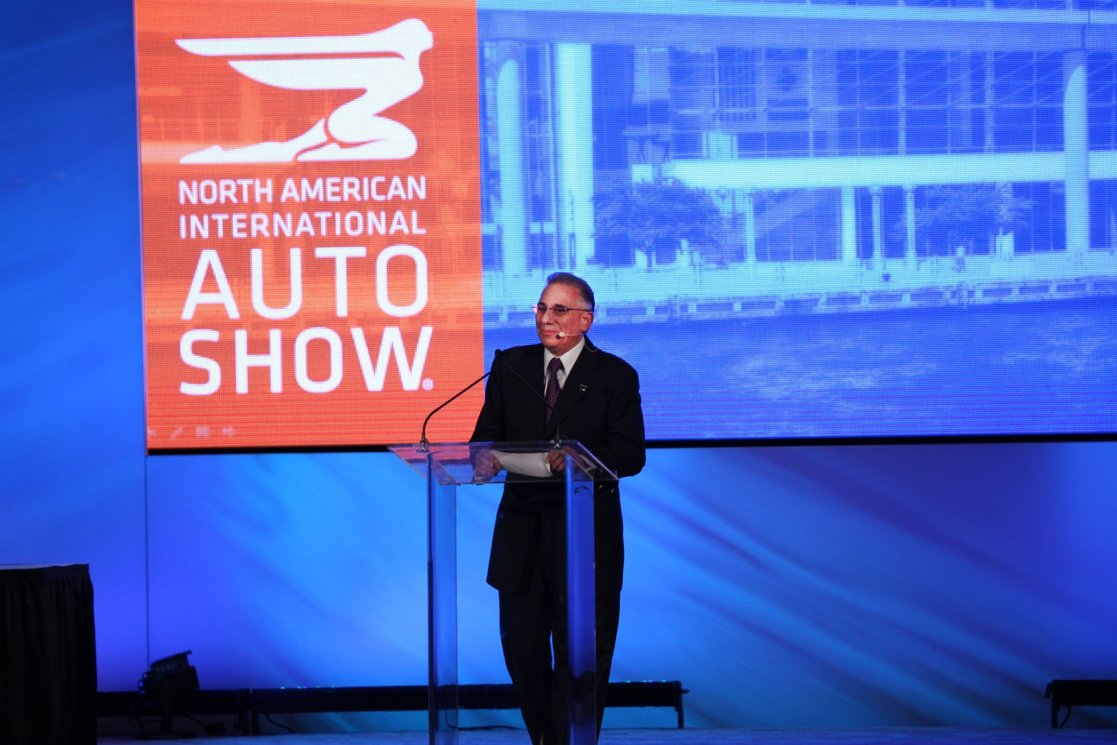 NAIAS chairman Paul Sabatini