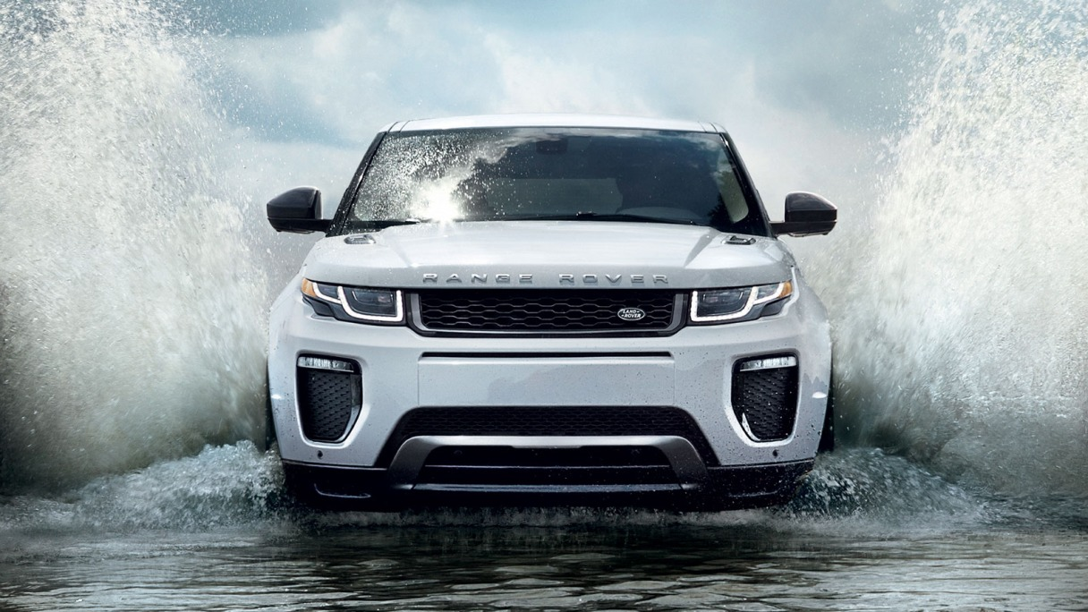 2016 Range Rover Evoque water