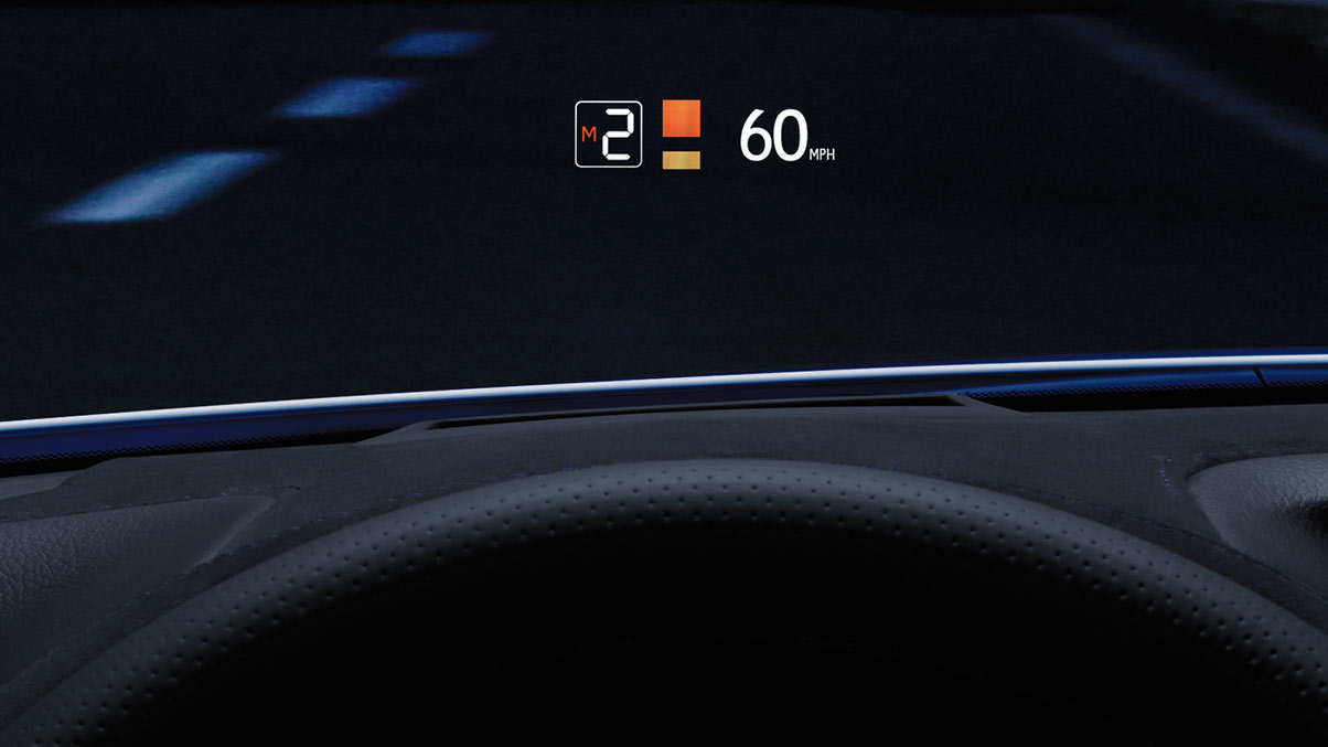How Vehicle Head Up Displays Work Openroad Auto Group