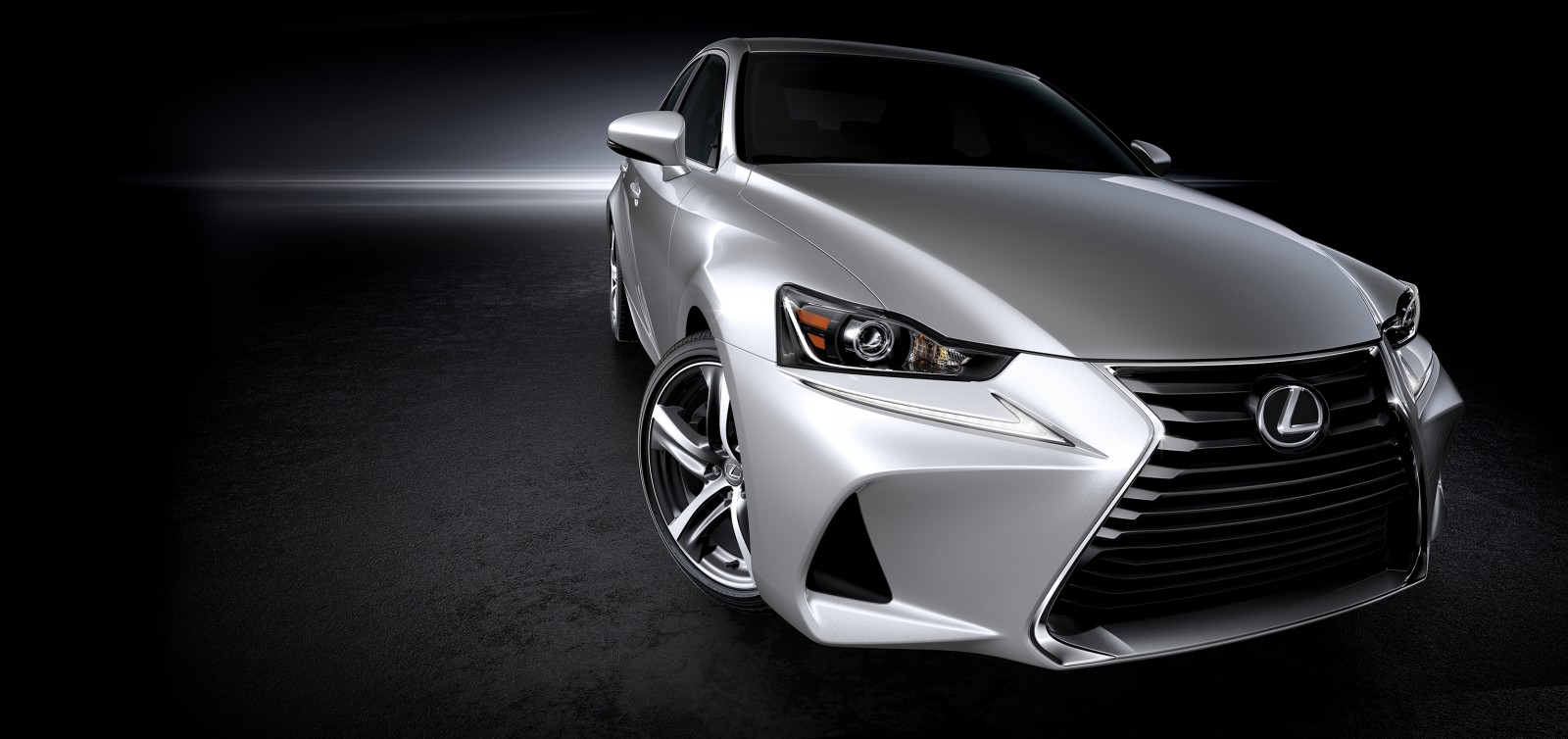 2017 Lexus IS spindle grille