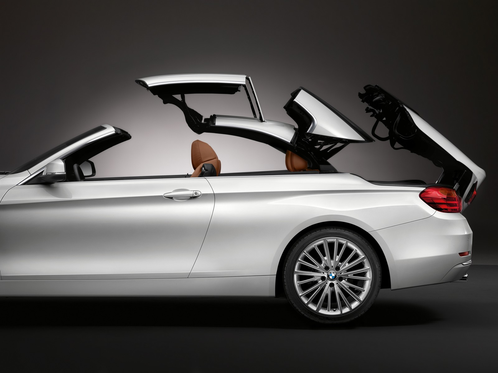 BMW 4 Series Convertible roof