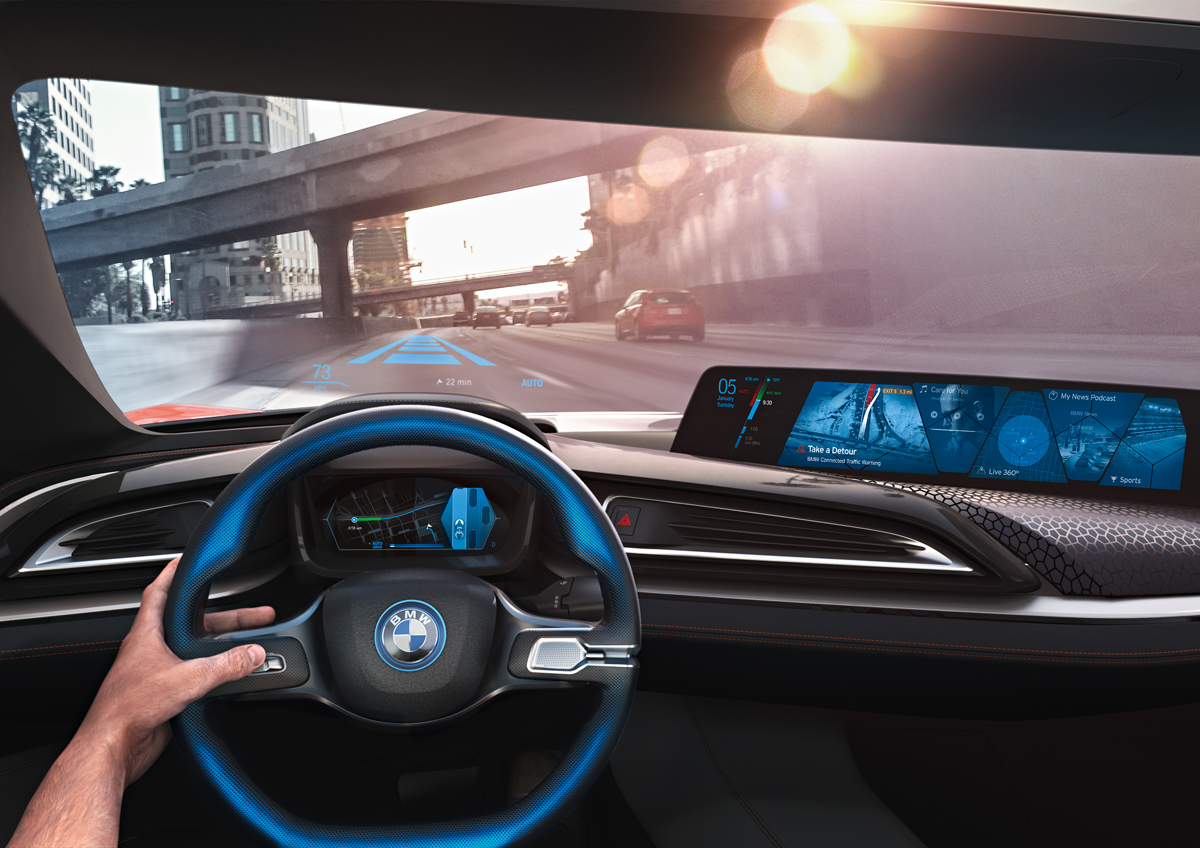 BMW i Vision Interaction dash