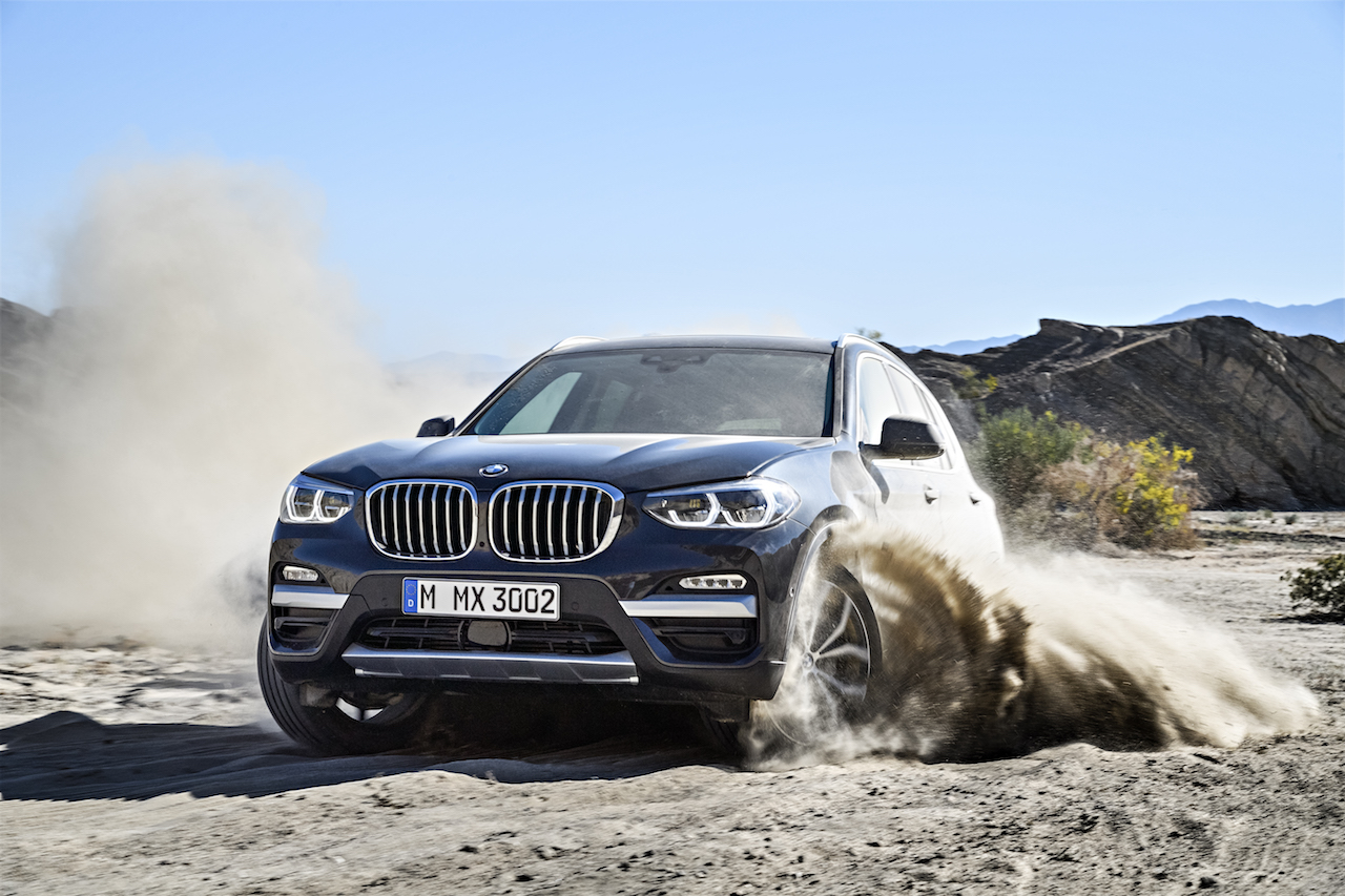2018 bmw x3 off-road