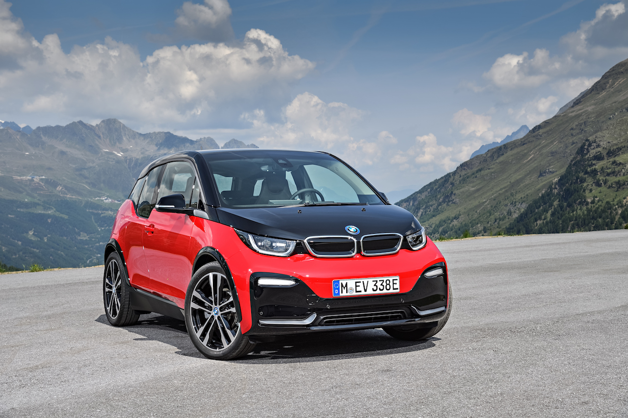 2018 BMW i3s front