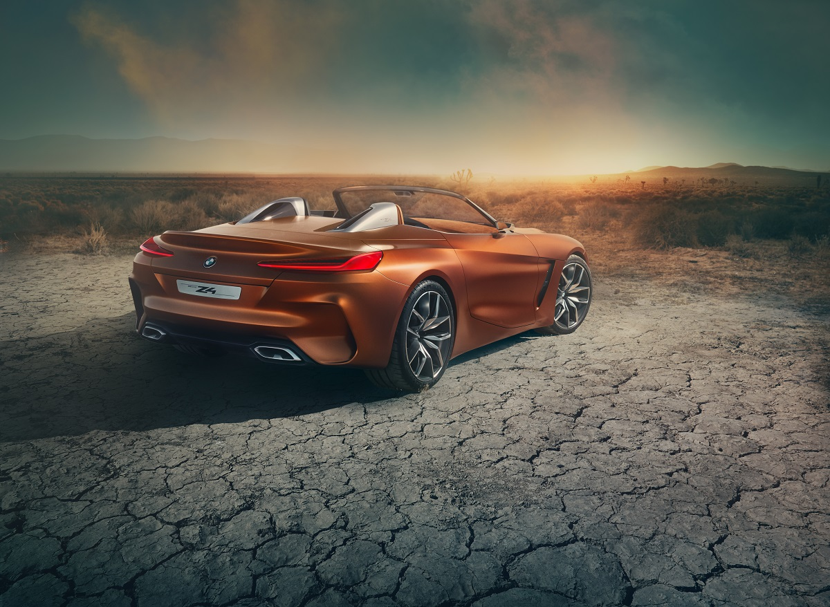 BMW Concept Z4 rear angle