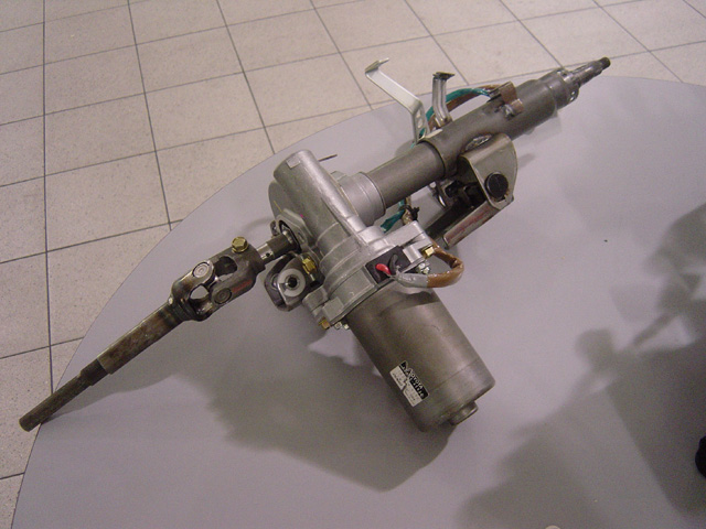 Toyota Prius electric steering
