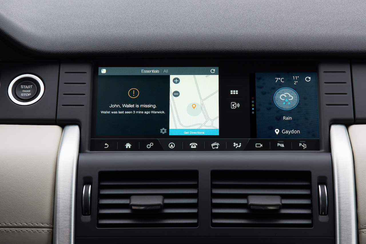 2017 Land Rover Discovery Tile integration