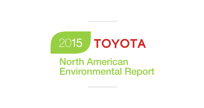 2015 Toyota North American Environmental Report