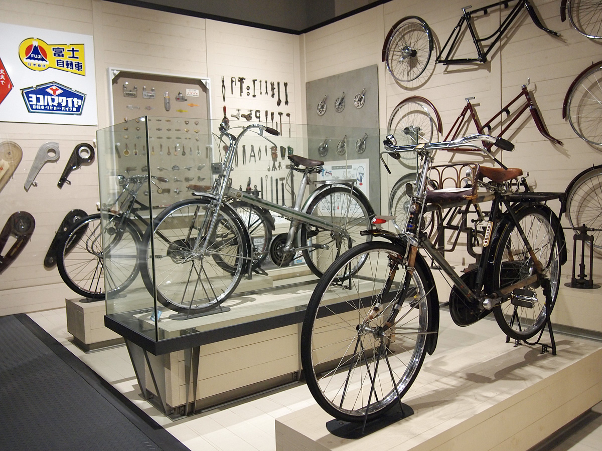 Toyota Automobile Museum bicycles