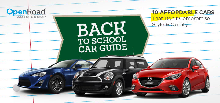 back-to-school cars