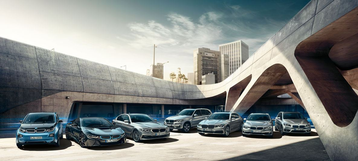 bmw edrive lineup