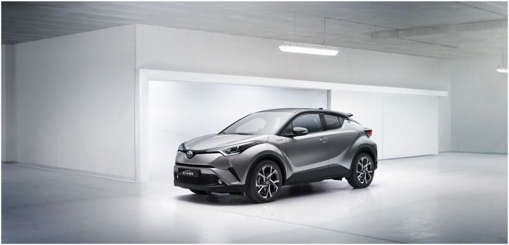 The 2017 Toyota CH-R subcompact crossover, which should be arriving on ...
