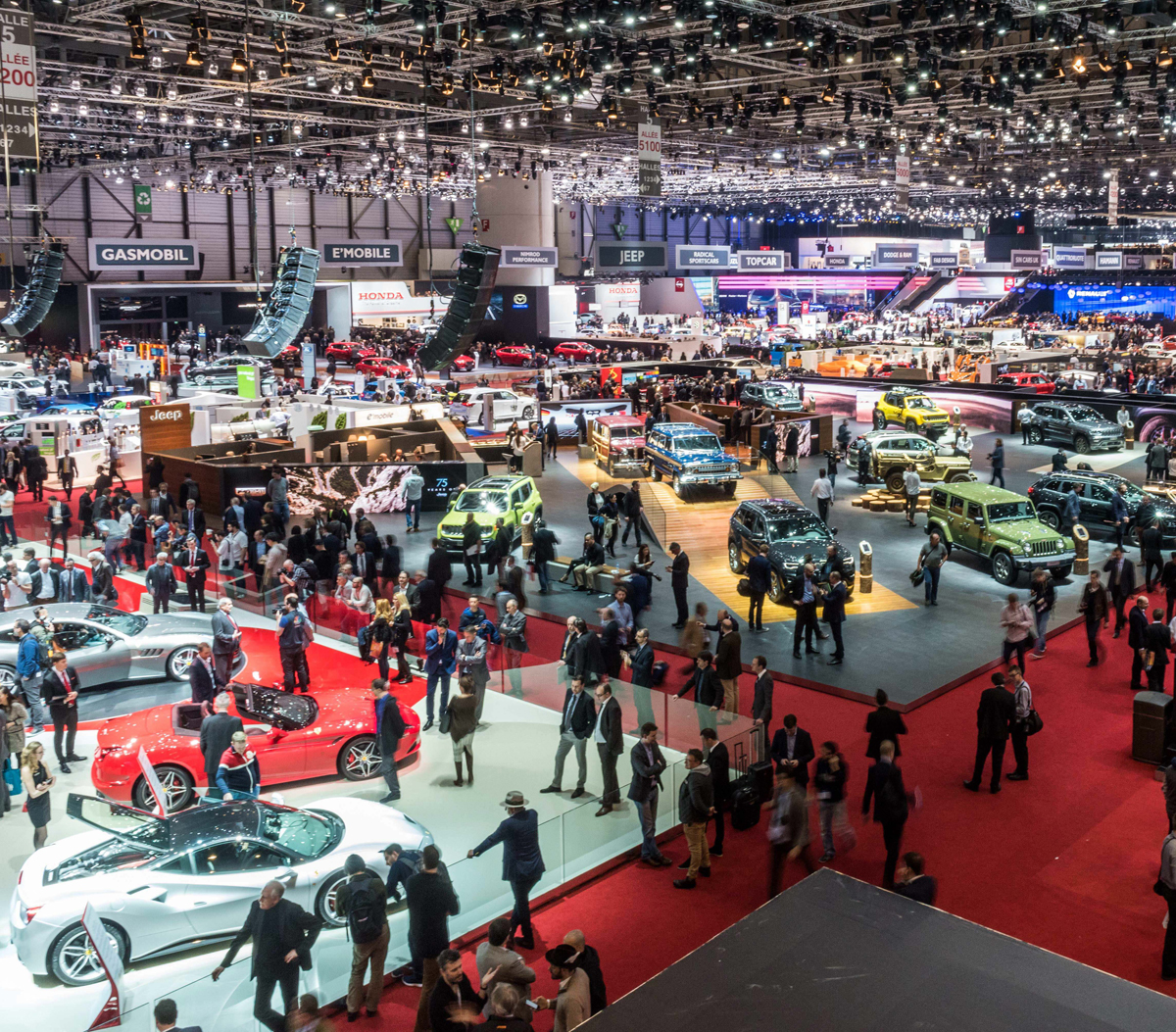 Mild To Wild: Top Five From Geneva Motor Show 2016