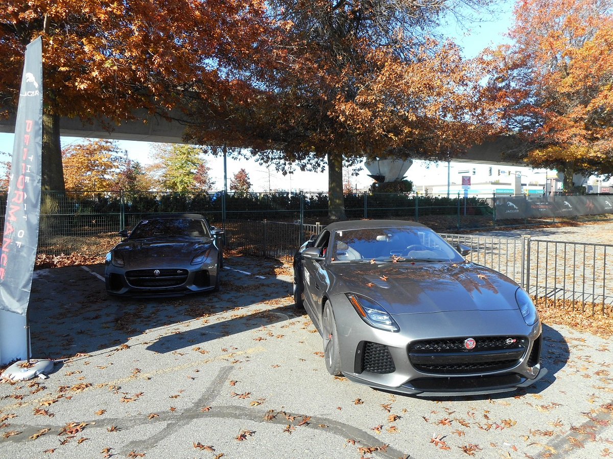 jaguar art of performance tour 2017 f-type