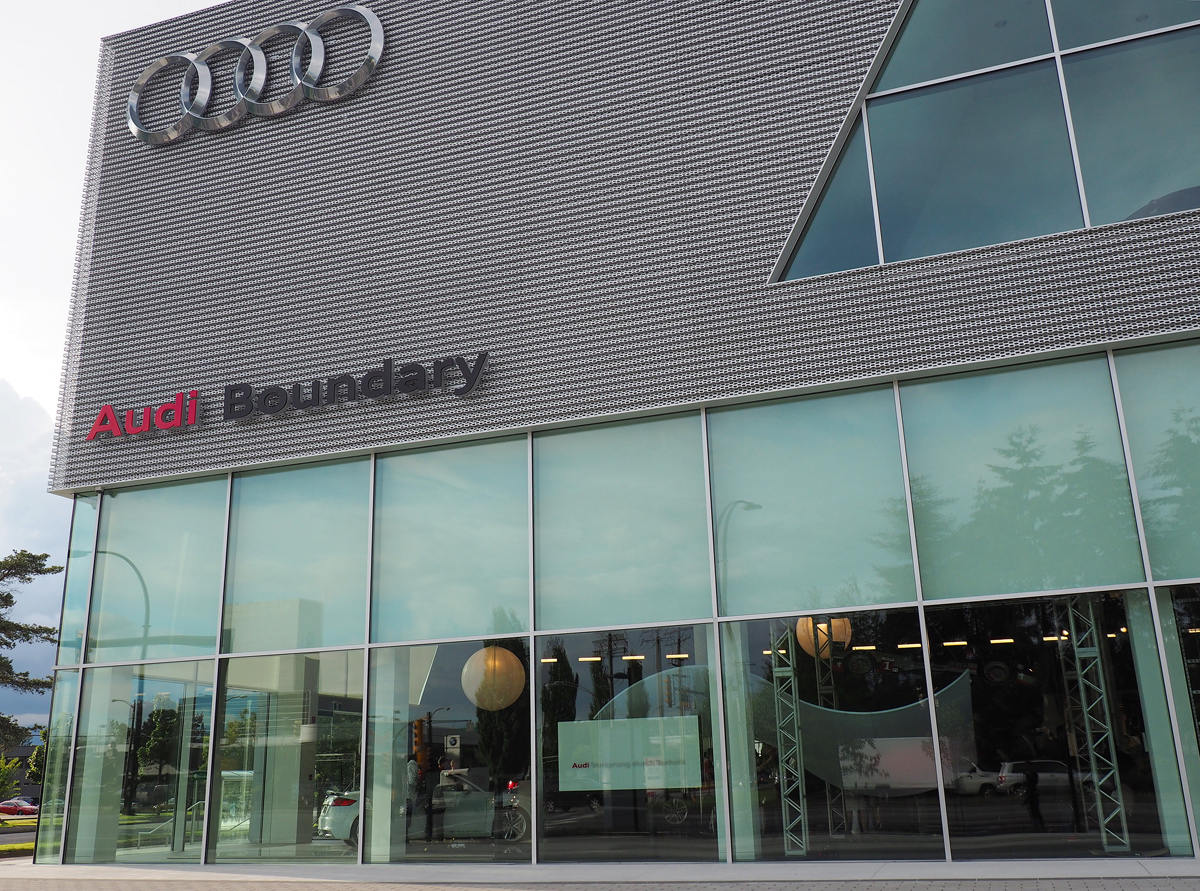 OpenRoad Audi Burnaby facade