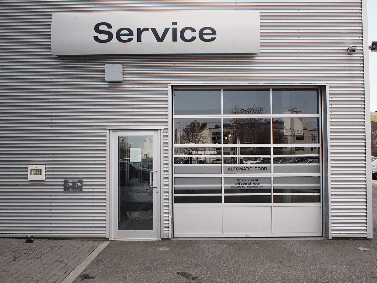 OpenRoad Audi service department