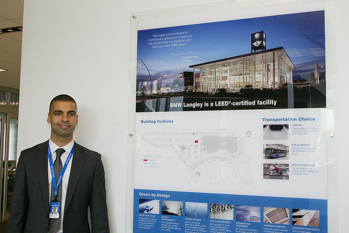 OpenRoad Langley BMW sales manager Ahmed Abou-Shaaban