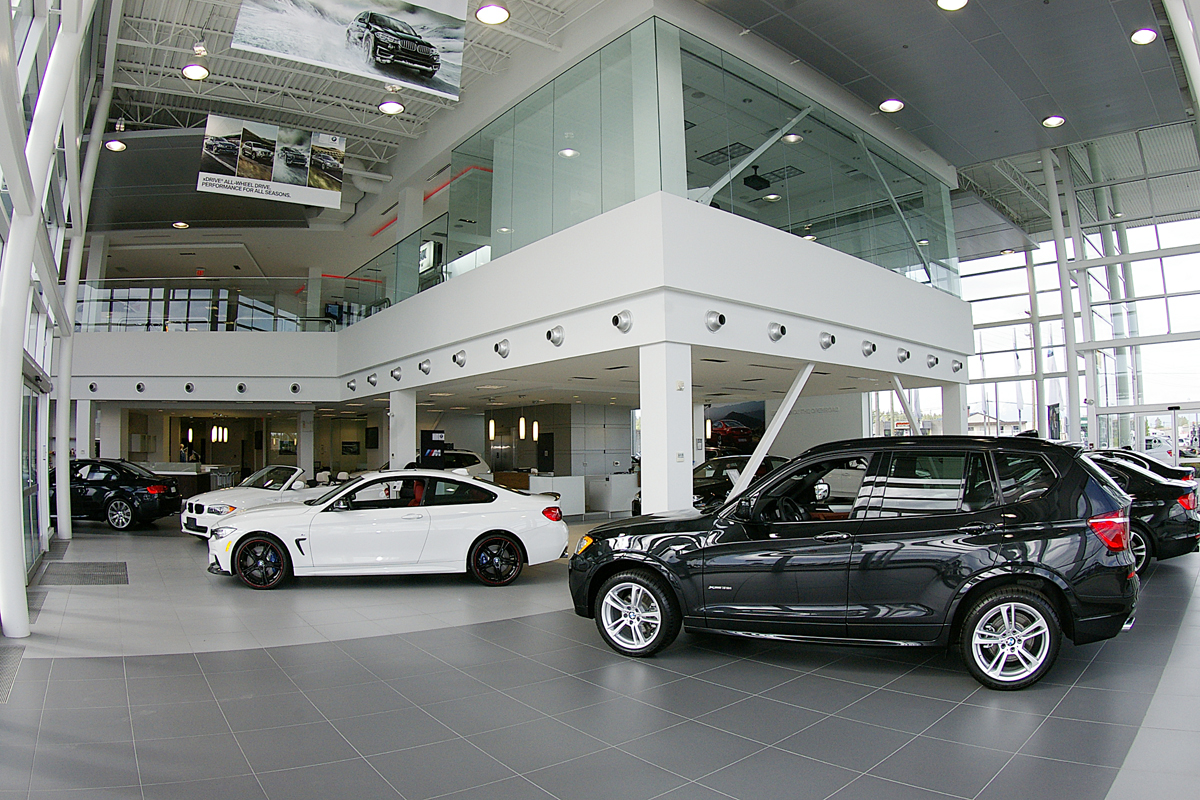 OpenRoad BMW Langley showroom