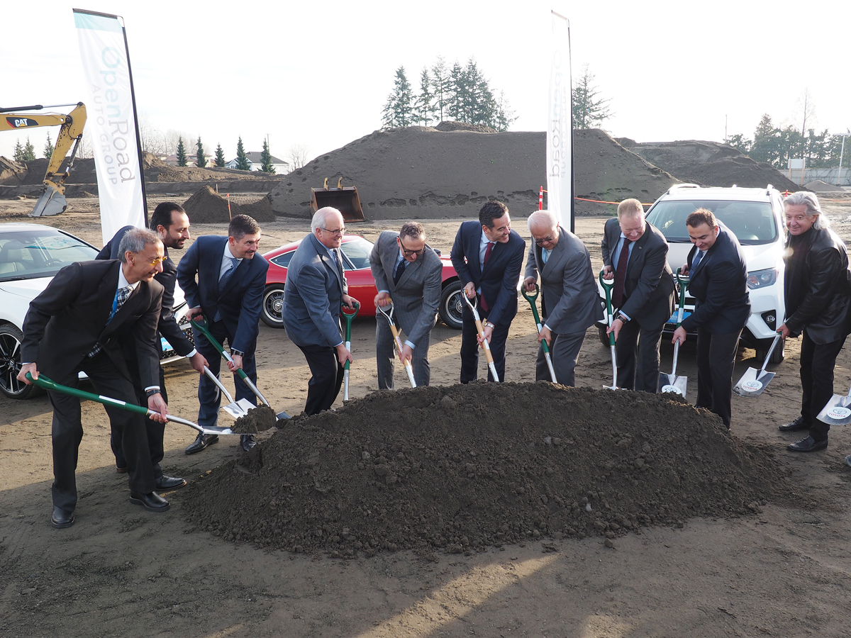 openroad toyota richmond groundbreaking