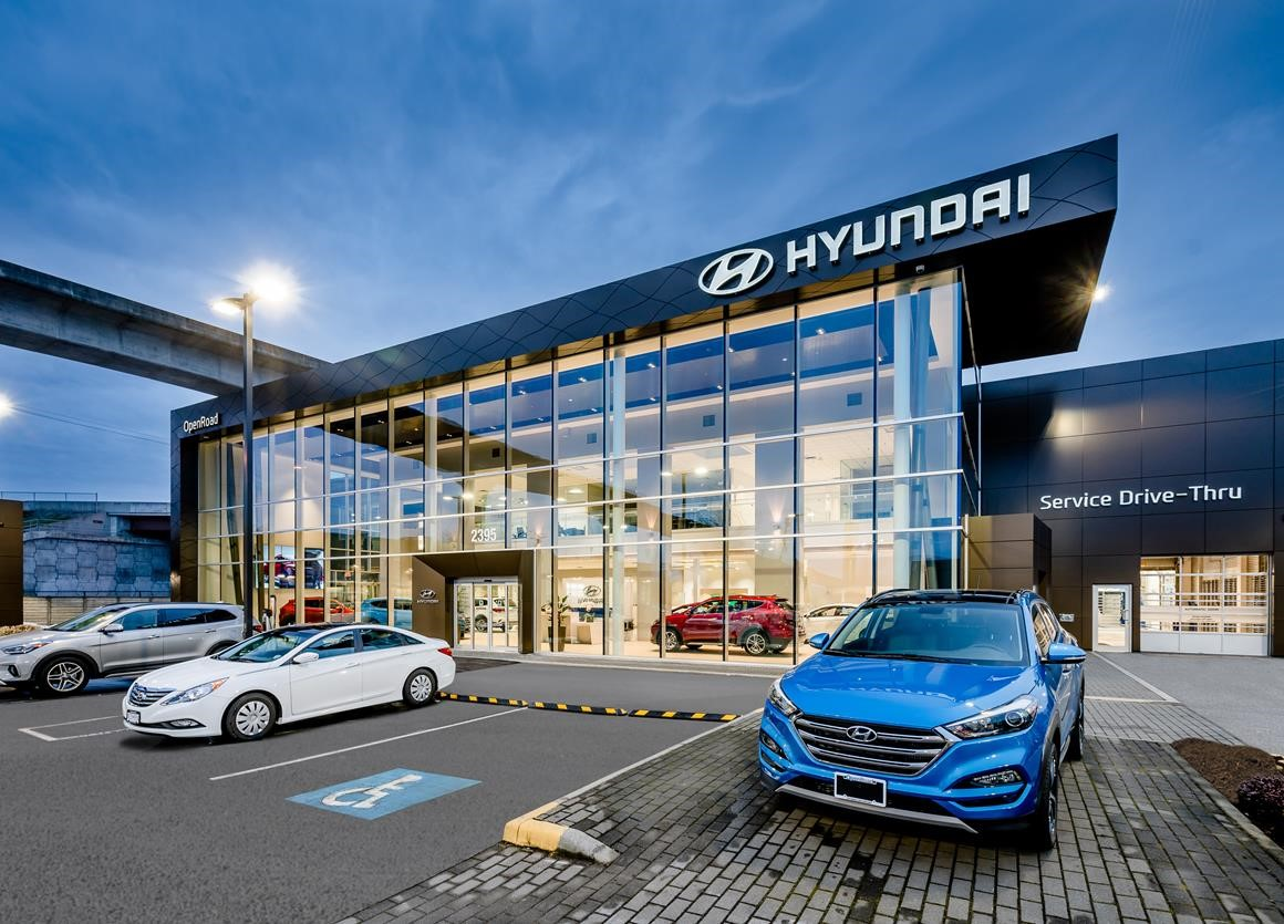 B C S Largest Hyundai Dealership Now Open For Business At Openroad