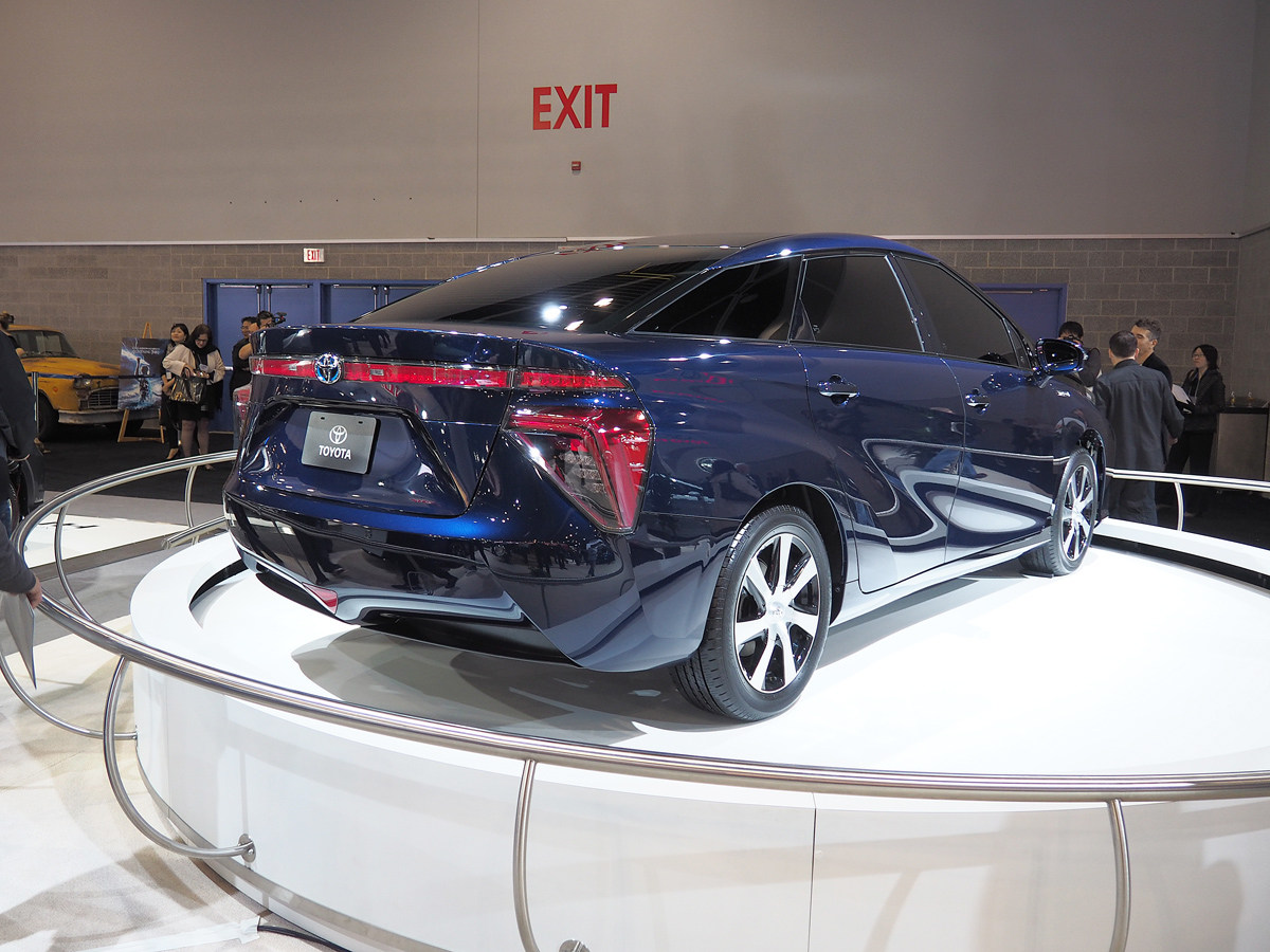 Toyota Fuel Cell Vehicle Concept rear